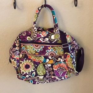 Vera Bradley overnight travel bag